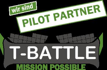 Wir sind T-Battle Pilot Partner