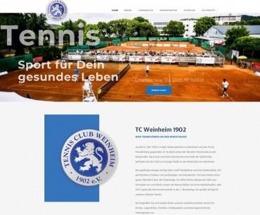 Die Webseite des TC 02 ist Neu