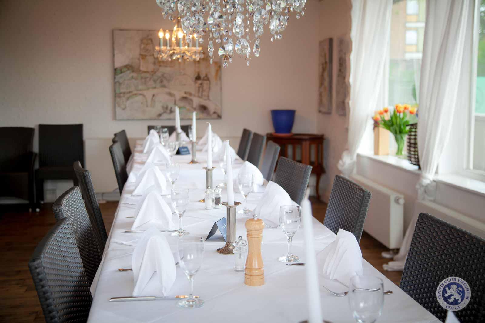 Mediterranes Restaurant mit italienischen Spezialitäten; Ristorante Giardino
