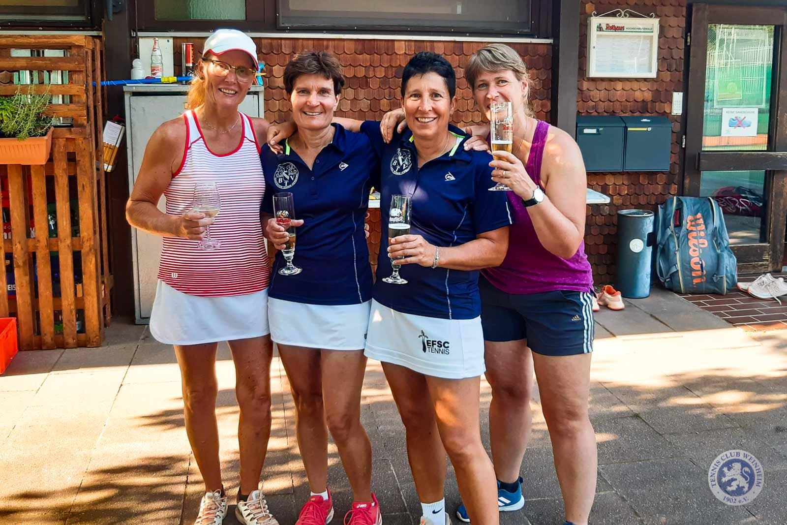 Damen Team Baden bei den Großen Schomburgk-Spielen 2019