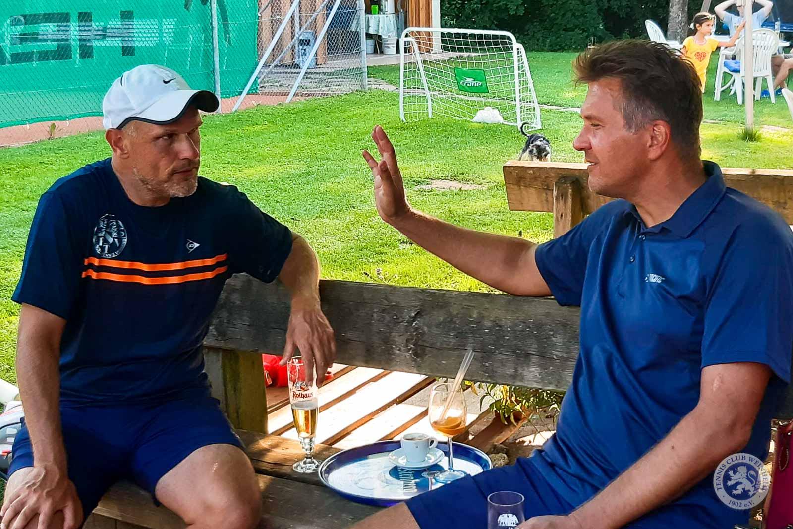 Jürgen Schäfer und Matthias Czwikla vom Team Baden bei den Großen Schomburgk-Spielen 2019
